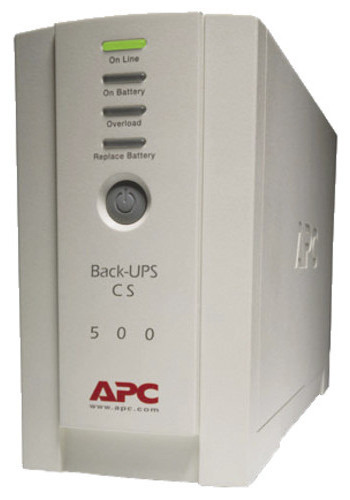 ИБП 500 ВА / 300 Вт APC Back-UPS CS 500 USB/Serial