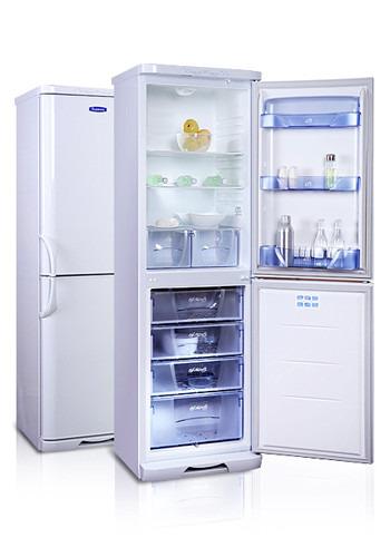 Купить холодильник с морозильником Бирюса 125 KSS цена 23450 руб.